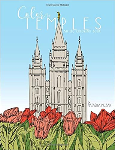 Amazon.com: Color the Temples: An LDS Coloring Book (9781944515065 ...