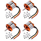 Best Brushless Motors - 4 Pcs A2212 13T 1000KV Outrunner Brushless Motor Review