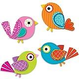 (US) Carson Dellosa Boho Birds Mini Cut-Outs (120194)