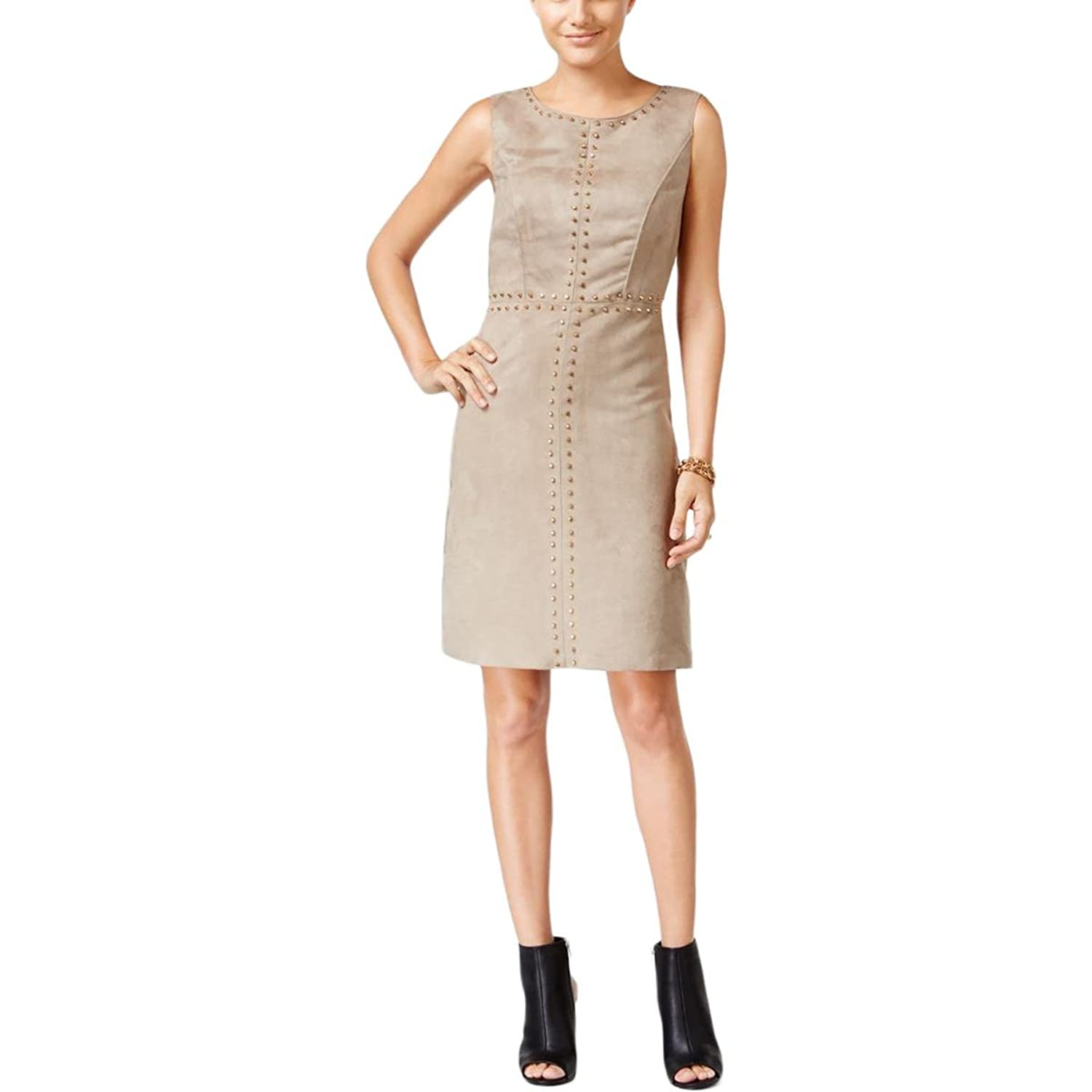 Jax Womens Missy Suede Studded Cocktail Dress at Amazon Women\'s ...