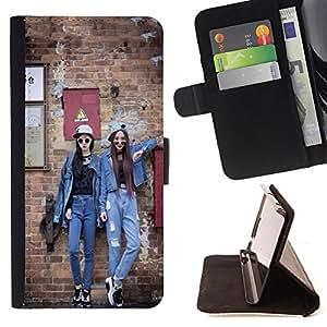 Jordan Colourful Shop - FOR Sony Xperia Z1 L39 - He misses her - Leather Case Absorci¨®n cubierta de la caja de alto impacto