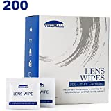 Best Eyeglass Wipes - VISUMALL 200 Lens Wipes - Pre-Moistened Lens Cleaning Review
