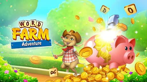 Word Farm Adventure: Piggy Bank smash
