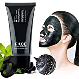 Best Face Mask for Acne FaceApeel Blackhead Remover Mask [Removes Blackheads] - Premium Quality Black Pore Removal Peel off Strip Mask For Face Nose Acne Treatment - Best Mud Facial Mask 60g (2.11 Oz)