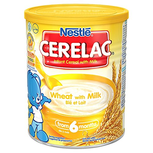 Nestle Cerelac Wheat With Milk - 400g (England) by Nestle