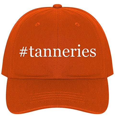 - The Town Butler #Tanneries - A Nice Comfortable Adjustable Hashtag Dad Hat Cap, Orange