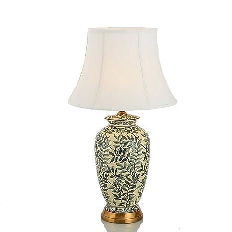LLW Gran lámpara de Mesa de cerámica Oriental - Estilo Chino ...