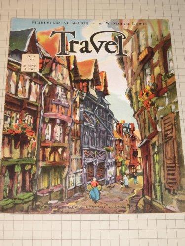 1932 TRAVEL Magazine: Toy Train in Bermuda - Windjammers - Stockholm - Frankfort - Trails in Minnesota