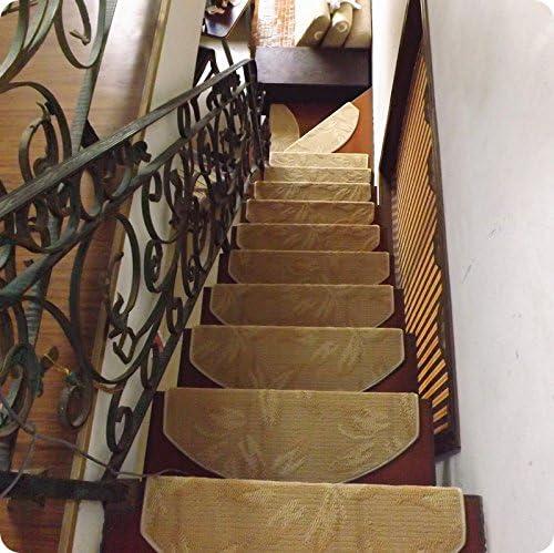DADAO-Alfombra de escalera, escalera, PAD, escalera, moqueta, libre de pegamento adhesivo, almohadilla antideslizante,85 *24cm,C: Amazon.es: Hogar