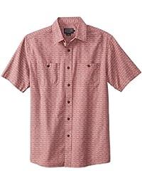 Men's Short Sleeve Classic-Fit Chambray Shirt