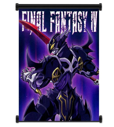 Final Fantasy IV 4 Game Fabric Wall Scroll Poster  Inches