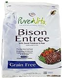 Pure Vita Grain Free Bison Dry Dog Food 25lb, My Pet Supplies