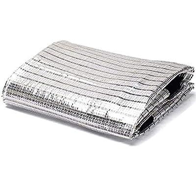 LoveSunny - 85% Aluminet Shade Cloth Fabric Sun Block Car Cover Pet Cover Reflective - 6.5ft x 6ft : Garden & Outdoor