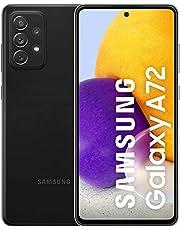 """Samsung Galaxy A72 F-SMA725FZKAMZ Smartphone (6.7"""" Octa-Core Dual-SIM 6 GB RAM 128 GB Android 11.0) Svart"""