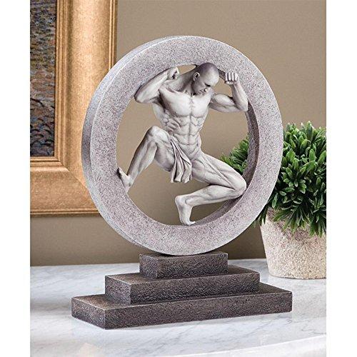 - Design Toscano Ashur the Assyrian God of Earth, Air and Sun Wall Sculpture, Black