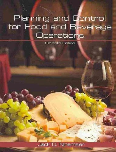 Planning And Control For Food And Beverage Operations Pdf