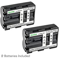 Kastar Battery for Sony NP-FM500H and Sony Alpha SLT A58 A57 A65 A77 A99 A77V A77II DSLR-A100 A200 A350 A450 A500 A550 A560 A700 A850 A900 Alpha a99 II CLM-V55 DSLR a100 a560 a580 a58 a77II a99 Camera