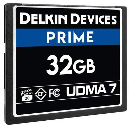 - Delkin 32Gb Compact Flash Memory Card 1050x [DDCFB105032G]