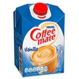 Coffee Mate, SUSTITUTO DE CREMA LIQUIDO PARA CAFÉ COFFEE MATE VAINILLA 530ML, 530 mililitros
