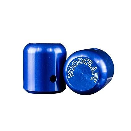 Amazon.com: Woodcraft Frame Slider Puck (Aluminum) Blue Anodized ...