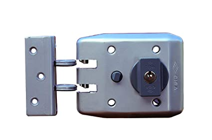 CISA - Jimmy Proof Deadlock Fixed Cylinder/Cerradura de Sobreponer Jimmy Proof Mod 1 Cilindro