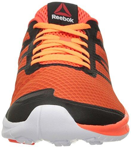 Reebok Heren Soquick Hardloopschoen Atoomrood / Energie Oranje / Elektrisch Perzik / Wit / Zwart / Grind