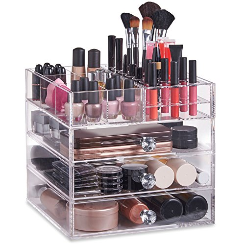 Beautify Acrylic Cosmetic Organizer Compartments