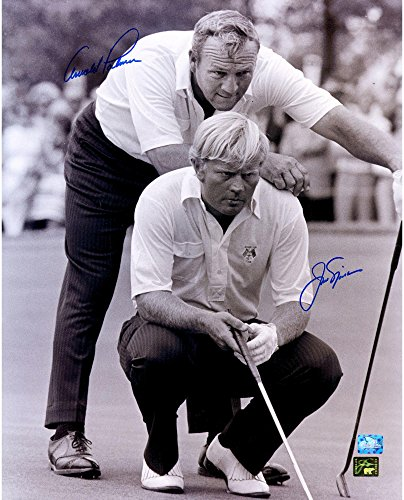 """Jack Nicklaus & Arnold Palmer Autographed 16"""" x 20"""" 1973 Ryder Cup Photograph - Fanatics Authentic Certified"""