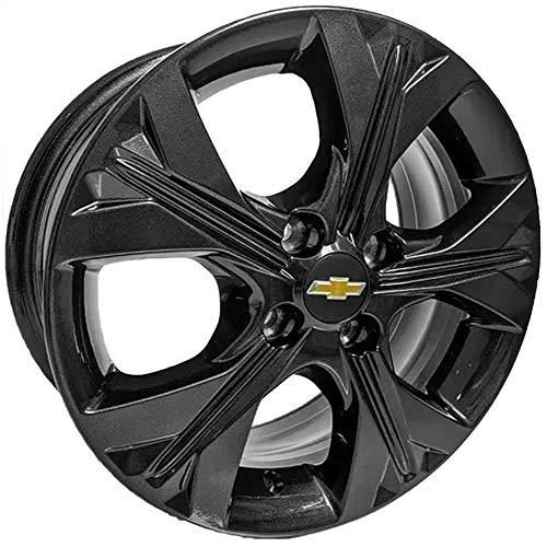 Jogo de Rodas Onix Premier 15 x 6,0 4x100 ET39 Chevrolet S21 Black Piano