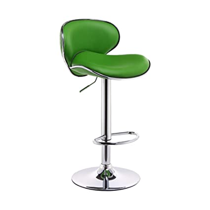 purchase cheap 91ac5 deeba Amazon.com: Green Bar Chair with Leatherette Exterior and ...