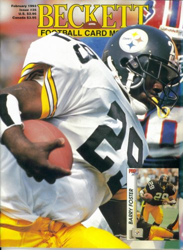 Used, Beckett Football Card Magazine #35 : Pittsburgh Steelers' for sale  Delivered anywhere in USA