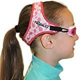 Frogglez Swim Goggles for Kids- Comfortable Neoprene Strap Designed Not to Pull Hair and Reduce Leaks, Goggles have 100% UV Protection, Adjustable Strap, Hassle-Free & Perfect for the Pool- Pink Whale