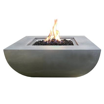 amazon com modeno 33 9 propane fire pit table outdoor patio rh amazon com patio set with propane fire pit table outdoor patio table with propane fire pit