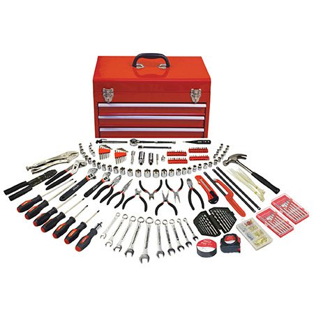 DT6803 Apollo 297 Piece Mechanics Tool Kit