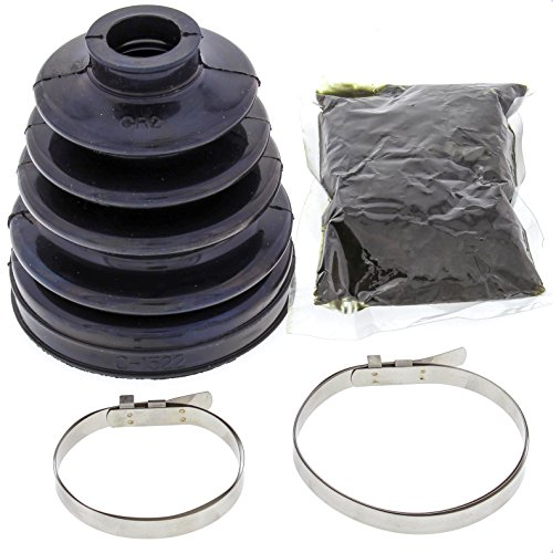 All Balls 19-5022 Black 21mm x 78mm x 93mm Long CV Boot Kit (800 Turbo Kit)