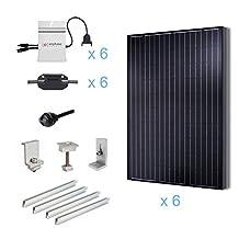 RENOGY® 1500 Watts 1.5KW Grid-Tied Solar Panel Complete Kit UL Listed Solar Panels