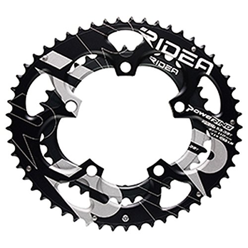 (RIDEA/リデア)(自転車用チェーンリング)ROAD POWER RING SEMI-FULL PLATE 110 / 5アーム 52/36T B0756R8S57