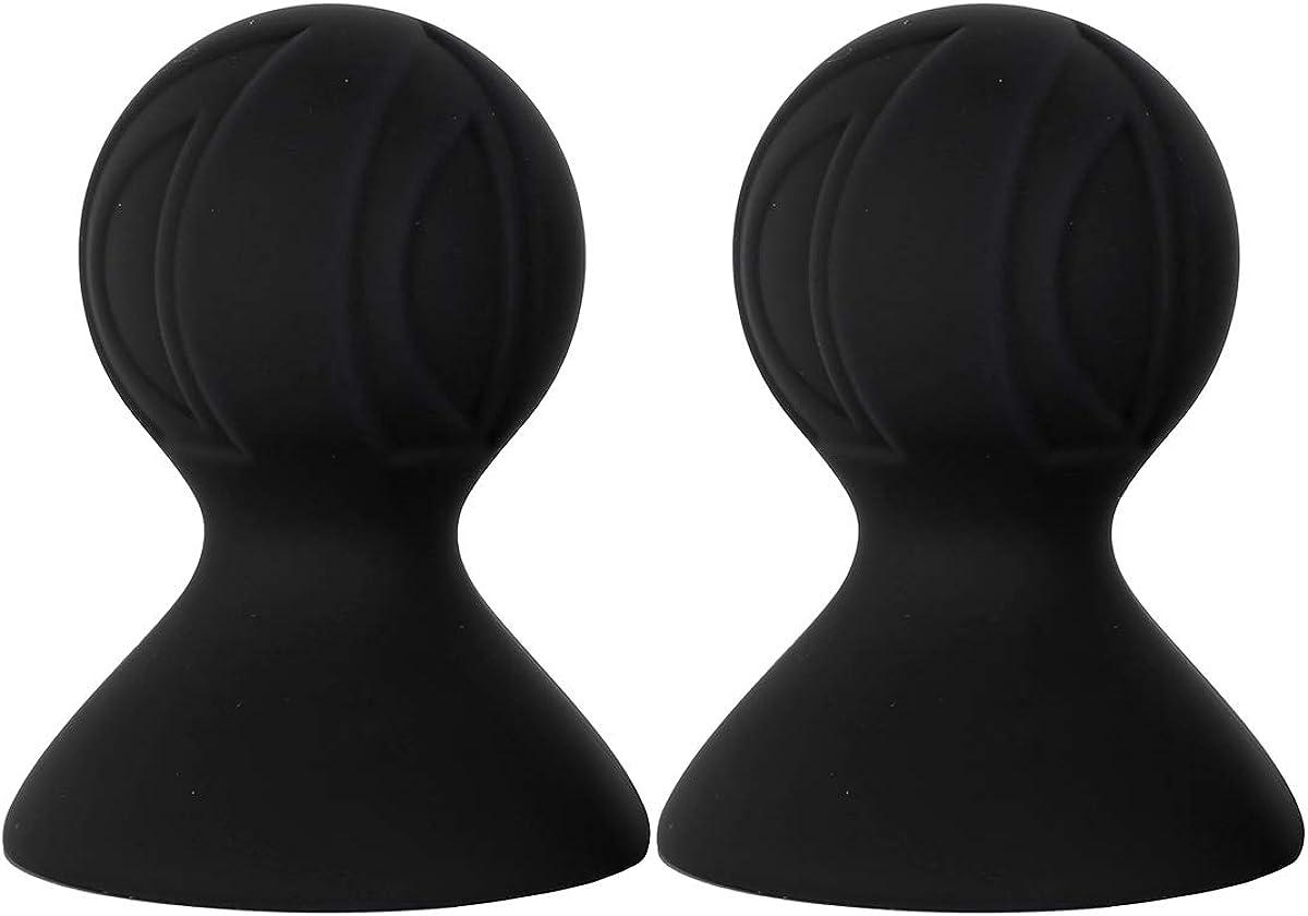 YiZYiF 2Pcs Women's Nipple Suckers Vacuum Stimulating Breast Suckes Accerssory