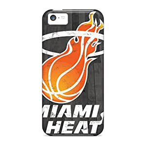 Unique Design Iphone 5c Durable Tpu Case Cover Miami Heat