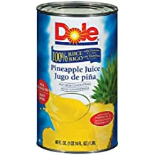 JUICE, PINEAPPLE 100% NOT-FROM-CONCENTRATE FANCY CAN SHELF STABLE