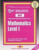 Mathematics - Level I, Jack Rudman, 083736311X