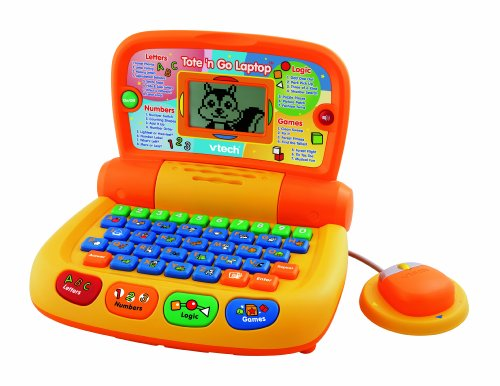 Vtech Laptop (VTech Preschool Learning Tote and Go Laptop - 2010 Version)