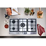 !!!ON SALE NOW!!! 34 Electric Stainless Steel Built-in Kitchen NG/LPG 5 Burner Gas Hob Cooktop
