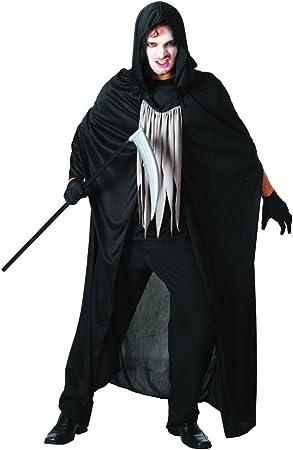 Unbekannt - Disfraz de la muerte para hombre, talla UK 40-44 ...
