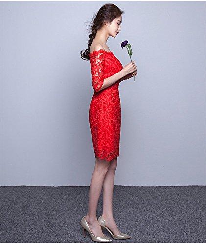 Drasawee Damen Rot Damen Rot Kleid Kleid Drasawee Schlauch Drasawee Schlauch Damen Kleid Schlauch gYfqYwR