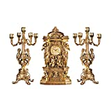 Design Toscano Inc Chateau Chambord Clock and Candelabra Ensemble