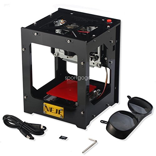 Price comparison product image NEJE DK-BL 1500mW 350DPI Laser Logo Engraver Engraving Carving Machine Printer F