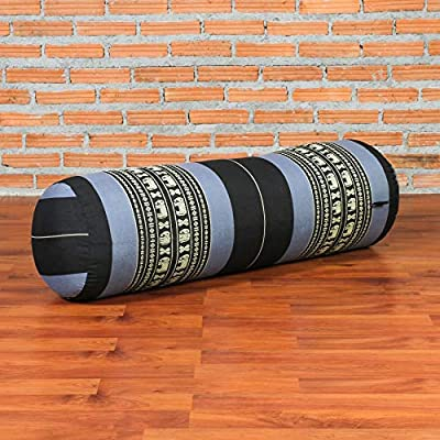 Amazon.com : Leewadee Long Yoga Bolster Supportive Pilates ...
