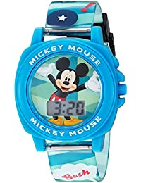 Boy's Digital Plastic Casual Watch, Color:Blue (Model: MK1328)