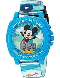 Boy's Quartz Plastic Casual Watch, Color:Blue (Model: MK1328)